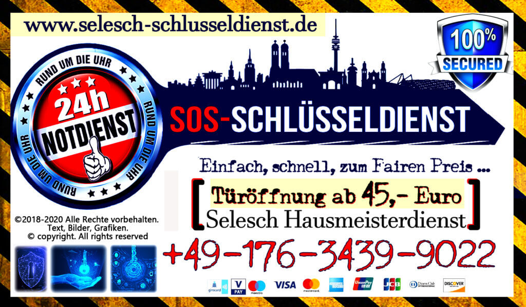 schlüsseldienst München - locksmith